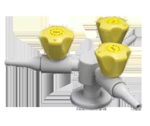 Gas Fitting Three Way 1